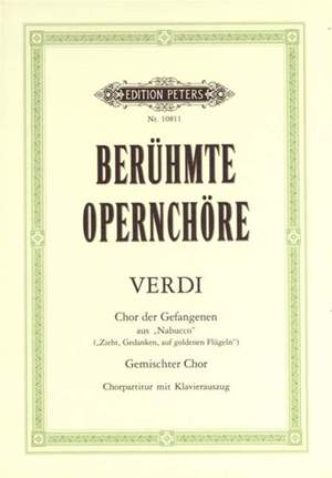 Chorus of the Hebrew Slaves from Nabucco SATB and Piano
