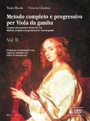 Metodo completo e progressivo per Viola da Gamba 2