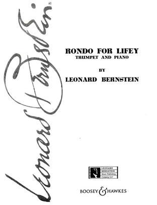 Rondo For Lifey Trumpet .Bernstein