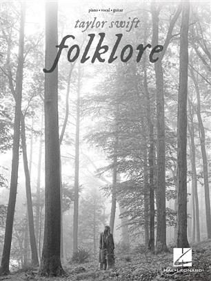 Taylor Swift - Folklore Piano, Vocal and Guitar