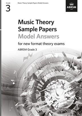Music Theory Sample Papers ABRSM - Grade 3 Answers