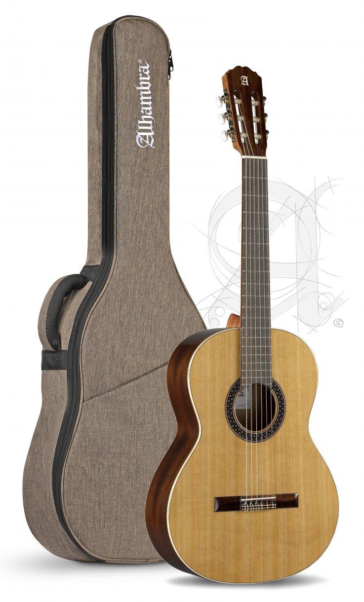 Guitarra Clasica Alhambra 1C 7/8 Señorita OP con funda