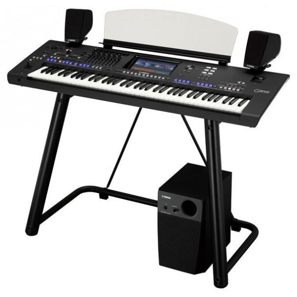 Workstation Yamaha Genos con soporte y altavoces