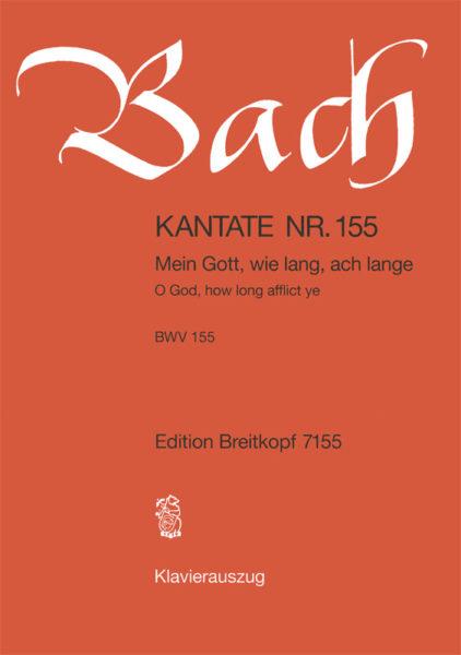 O God, how long afflict ye BWV 155