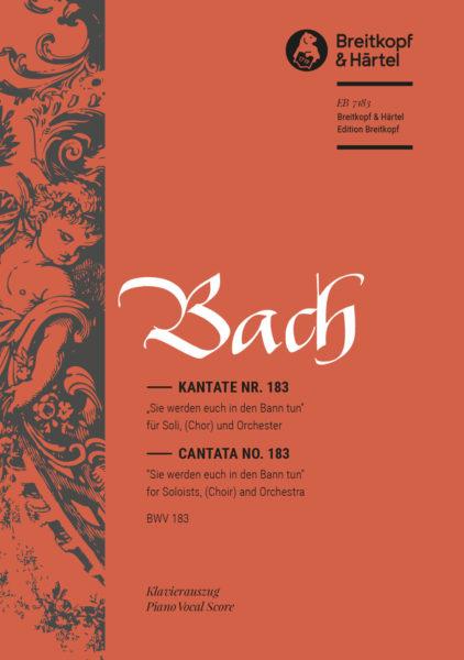 Sie werden euch in den Bann tun BWV 183