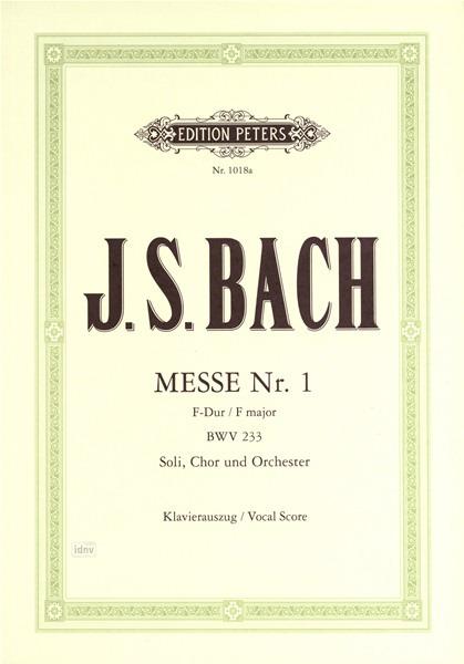 Mass No.1 in F, BWV 233
