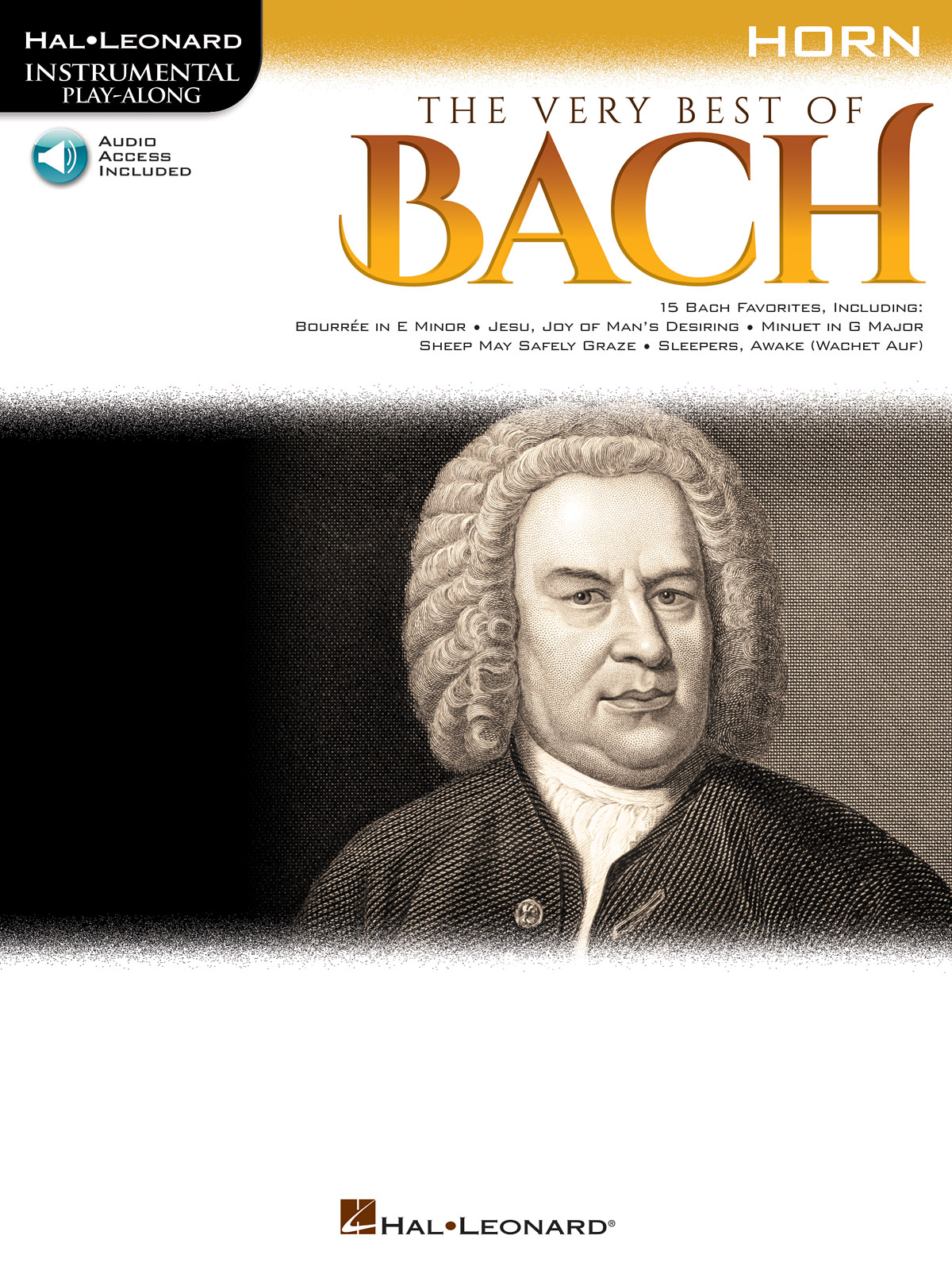 The Very Best of Bach: Instrumental Play-Along For Horn + Au