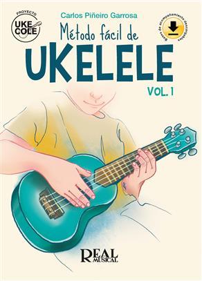 Método fácil de ukelele vol. 1 Book y Audio Online