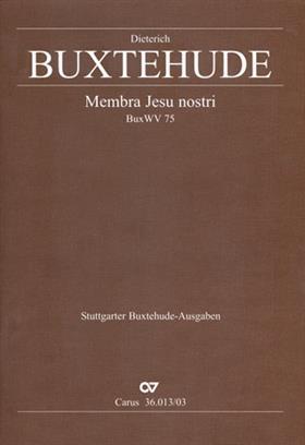 Membra Jesu nostri Vocal Score .Buxtehude