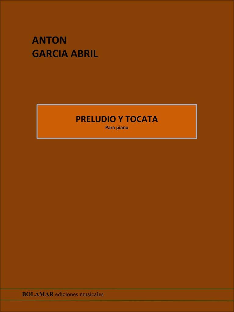 Preludio y Tocata Piano .Garcia Abril