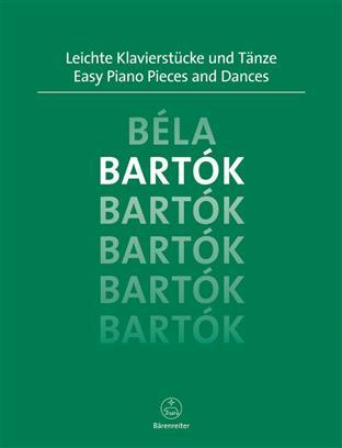 Leichte Klavierstücke und Tänze Bartok