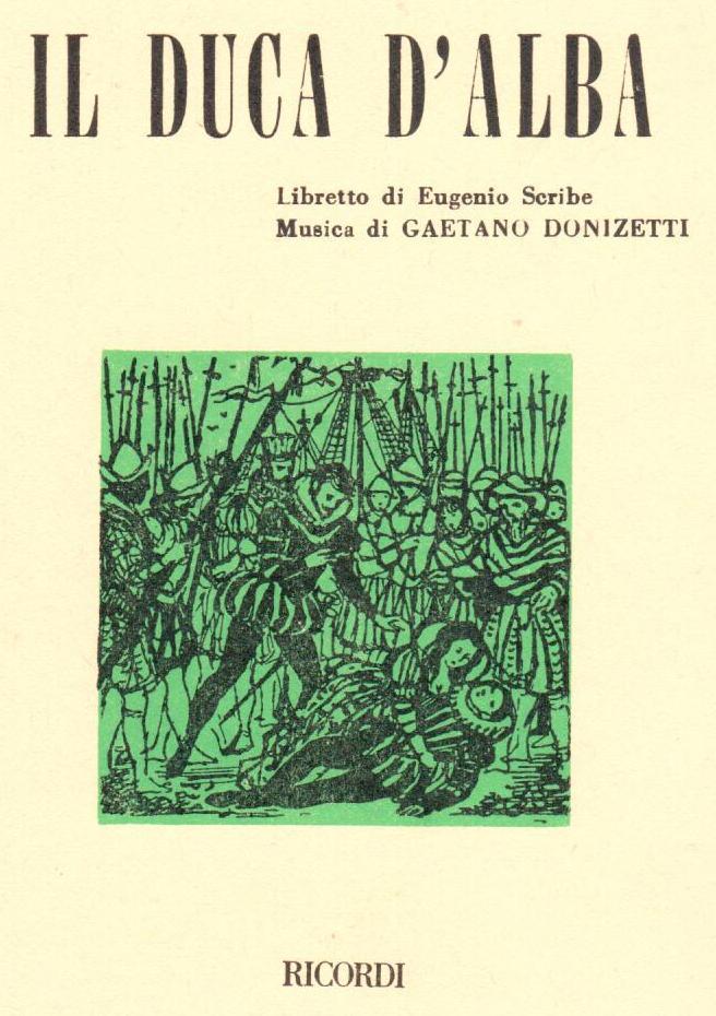 Il Duca D'Alba. Libretto Donizetti Outlet