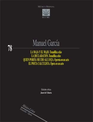 Tonadillas /Operetas/Opera  Orquesta  .Garcia