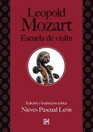 Leopold Mozart Escuela Del Violin