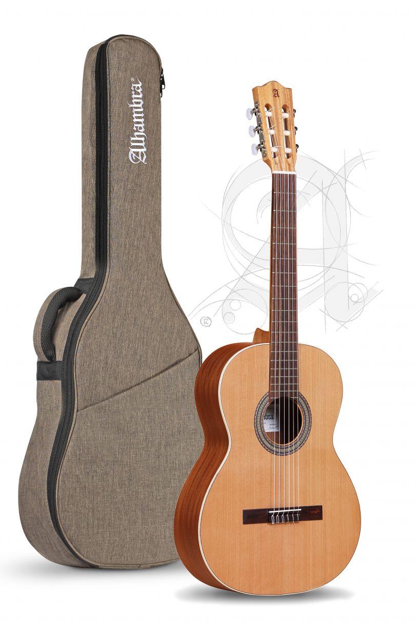 Guitarra Clásica Alhambra Z-Nature con funda