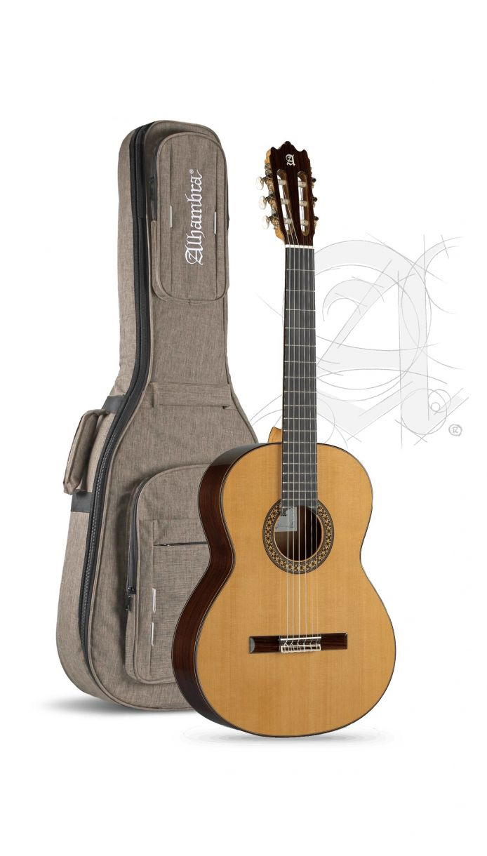 Guitarra Clasica Alhambra 4P Española con funda