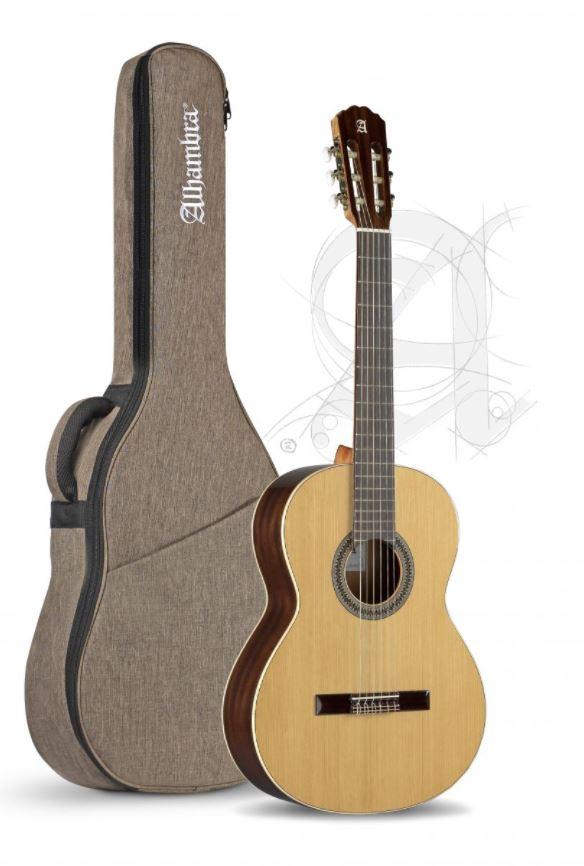 Guitarra Clasica Alhambra 2C Española con funda