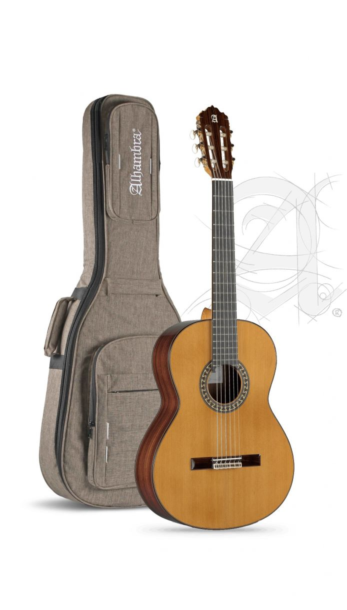 Guitarra Clasica Alhambra 5P Española con funda