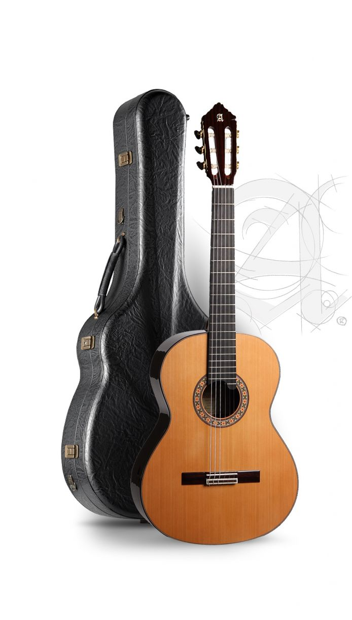 Guitarra Clásica Alhambra 10P con estuche