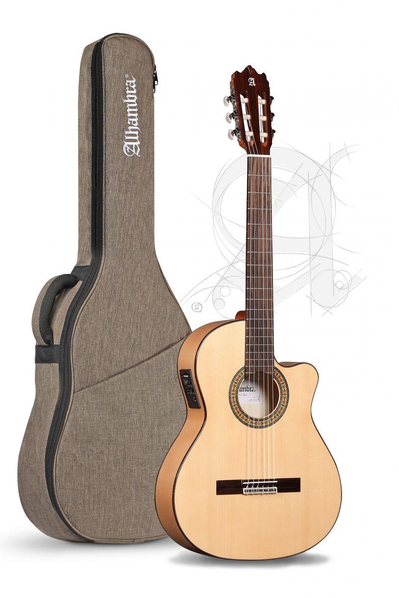 Guitarra Flamenca Alhambra 3F CW E1 con funda