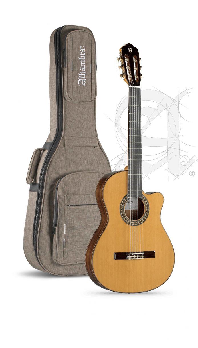 Guitarra Clasica Alhambra 5P Cw E2 Electrificada