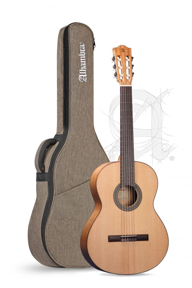 Guitarra Flamenca Alhambra 2F con funda