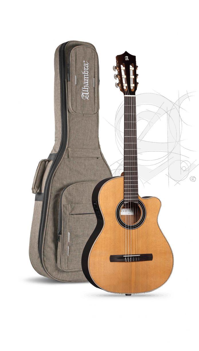 Guitarra Alhambra Cross-Over CS-LR Serie S E1