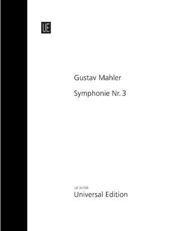 Symphony No. 3 - D minor for alto, boys' choir, female choir