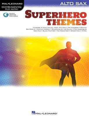 Instrumental Play-Along: Superhero Themes for  Saxo Alto
