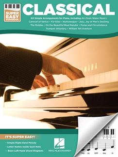 Classical - Super Easy Songbook. Piano