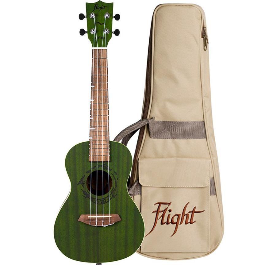 Ukelele Concert Flight DUC380 Jade