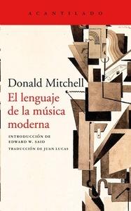 El lenguaje de la música moderna .Mitchell