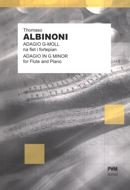 Adagio In G Minor Flute - Piano .Albinoni