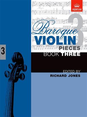 Baroque Violin Pieces, Book 3