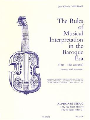 The Rules Of Musical Interpretation In Baroque Era