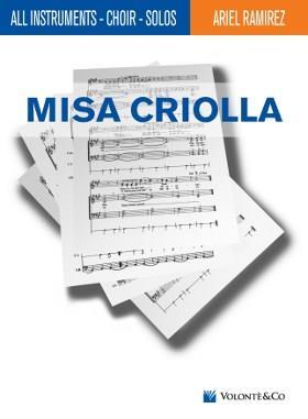 Misa Criolla SATB .Ramirez