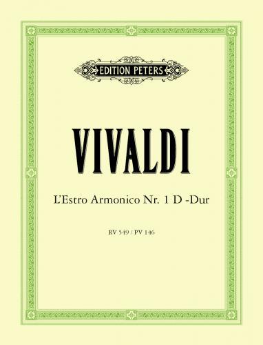 Concerto No. 1 in D RV549 Full Score . Vivaldi