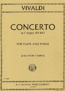 Flute Concerto F Major RV 442  . Vivaldi