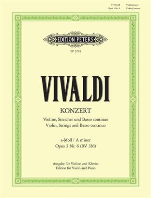 Konzert a-moll Op.3 Nr.6/ Concerto in A minor Op.3.für Violi. Vivaldi