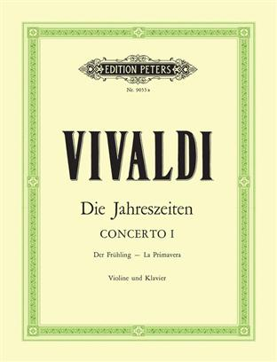 The Four Seasons Op.8 No.1 in E 'Spring'. Vivaldi