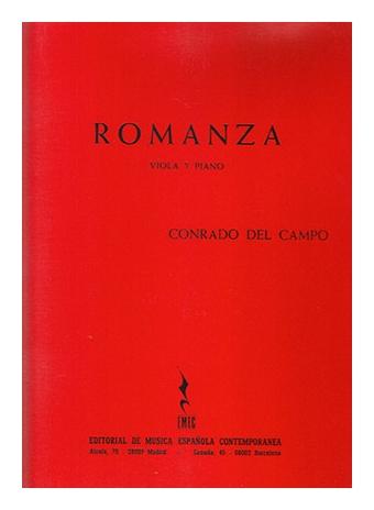 Romanza viola - piano Conrado del Campo