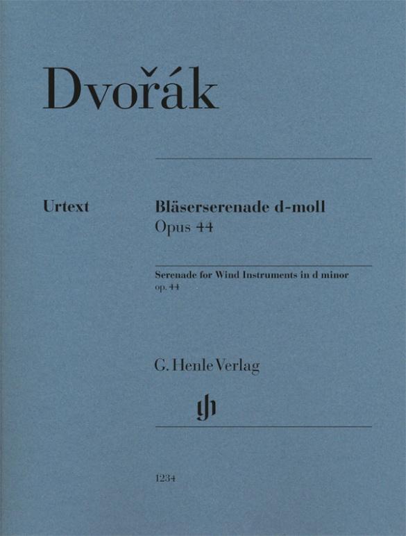 Wind Serenade d minor op. 44 Parts .Dvorák