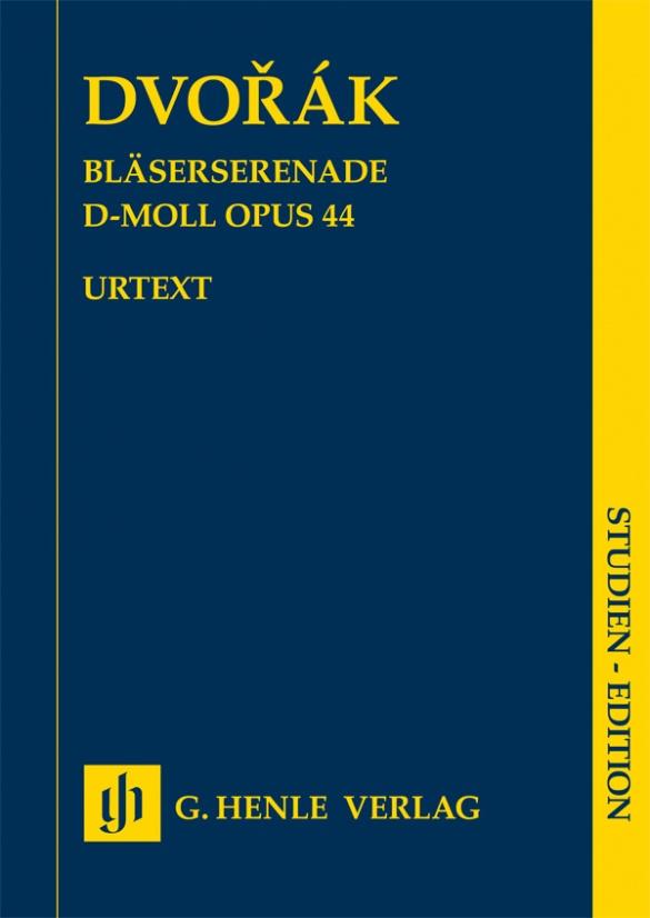 Wind Serenade d minor op. 44. Dvorák. Study Score