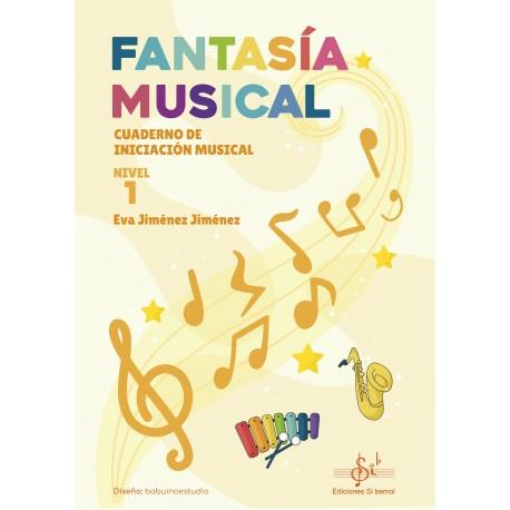 Fantasía Musical 1 Cuaderno de iniciacion musical .Jimenez