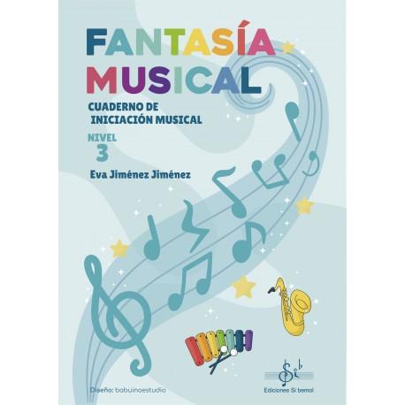 Fantasía Musical 3 Cuaderno de iniciacion musical .Jimenez