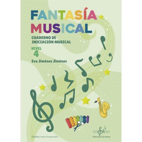 Fantasía Musical 4 Cuaderno de iniciacion musical .Jimenez