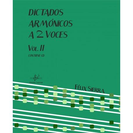 Dictados Armonicos Vol.2 A Dos Voces  Alumno Audio en App