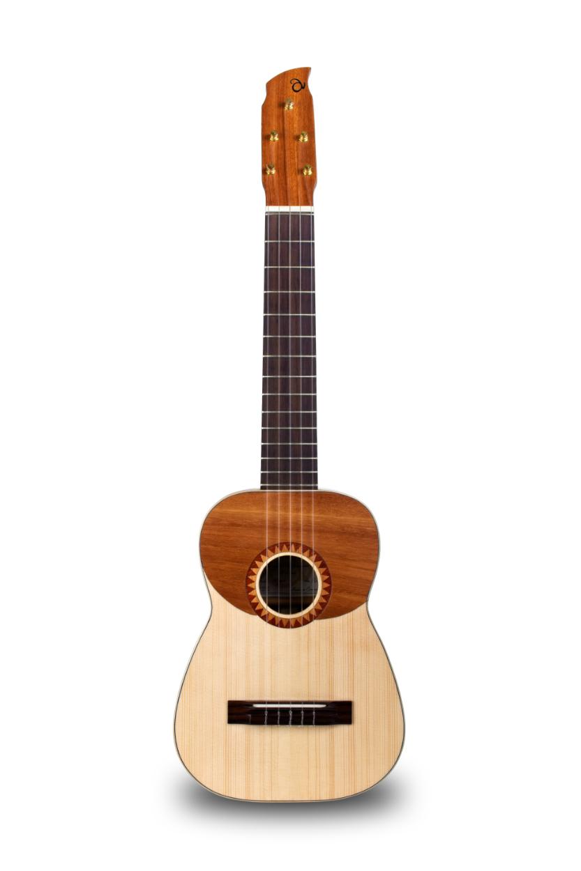 Guitarrico o Guitarró Artesanal modelo Mogán. Abraham Luthier