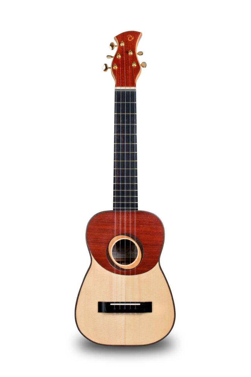 Guitarrico o Guitarró Artesanal modelo Aridane. Abraham Luthier