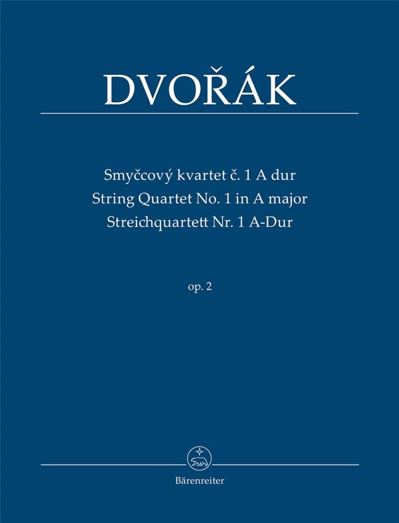 String Quartet Nr. 1 A major Op.2. Dvorak